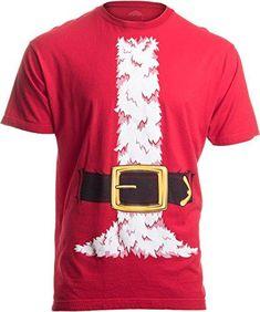 b2b947ebc Santa Claus Costume | Jumbo Print Novelty Christmas Holiday Humor Unisex T- shirt. Geek ShirtsFunny ...