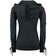 Corded Hood - Girls hooded zip by Gothicana by EMP - Article Number: 274786 - from 39.99 € • EMP
