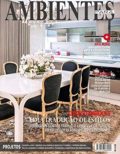 Sala integrada à cozinha em estilo clássico
