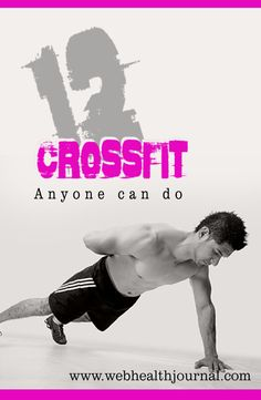 Here are 12 Cross Fit Workouts anyone can do. #crossfit #crossfit_workouts #fitness #fitness_tips #exercise #fitness_exercise #workouts #workout_plans #health_fitness