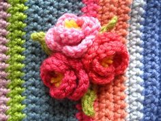 Japanese Quince Flower, great tutorial by Attic24. Great way to embellish bags, cushions, hairclips etc... Kerry