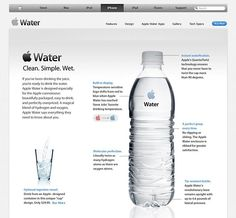 If Apple made water #design #humor #tech