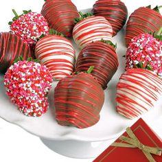 Chocolate Covered Strawberries. Yum. From chocolatecoveredcompany.com