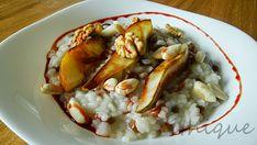 Ethique: Rýžová kaše s kokosovým mlékem a zkaramelizovanou hruškou