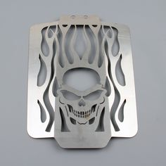 Mad Hornets - Radiator Grille Guard Cover Protector Suzuki Boulevard M109R VZR1800 (2006-2010), Flame Skull, $69.99 (http://www.madhornets.com/radiator-grille-guard-cover-protector-suzuki-boulevard-m109r-vzr1800-2006-2010-flame-skull/)