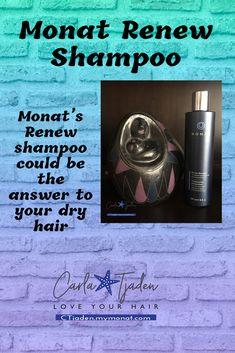 Thin Hair Tips, Frizzy Hair Tips, Curly Hair Care, Dry Hair, Curly Hair Styles, Natural Hair Styles, Monat Renew Shampoo, Heatless Hair, Hair Issues
