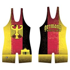 Germany wrestling singlet is unique and can only be found at wwsport.com!