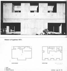 The Architect's Architect: Kazuo Shinohara 1925-2006. 'Reductively modernized versions / abstract geometries of the traditional Japanese house.' | by florisvanderpoel
