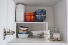 Ikea kitchen storage solutions Variera shelf insert