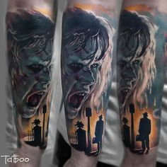 The Exorcist Valentina Riabova at Element tattoo Oslo