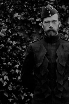 """teatimeatwinterpalace: """""""" Emperor Nicholas II in the uniform of the Scots Greys, Balmoral, September 1896. """" """""""