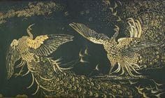 "Who do Whistler's ""Fighting Peacocks"" represent? @saxonhenry investigates: http://saxonhenry.com/the-peacock-room-a-la-whistler/… #PeacockRoom"