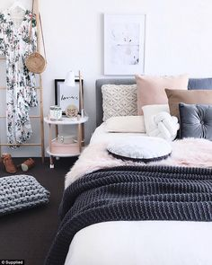Is this the ultimate Kmart mum? Is this the ultimate Kmart mum? Is this the ultimate Kmart mum? Teen Room Decor, Home Decor Bedroom, Teen Bedroom, Bedroom Ideas, Master Bedroom, Fashion Room, Home Fashion, Style At Home, Kmart Home