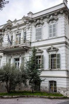 Βίλα Χαφίζ Μπέη-Θεσσαλονίκη Old Greek, Thessaloniki, Macedonia, Old Photos, Greece, Places To Visit, Mansions, Country, Architecture
