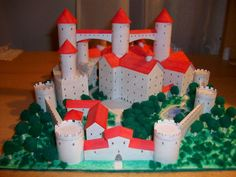 how to makecastle out of cardboard | My tutorial on how to make a paper castle is right here.