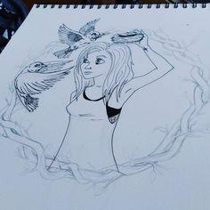 www.creale.es estudio diseño design art diseño, ilustración, paint, draw, birds