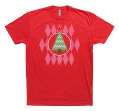 Christmas T-shirt tree