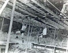 Training at Camp Toccoa, Georgia 1942