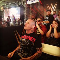 Slipknot's Corey Taylor pays @wwenxt a visit at #NXTAftershock