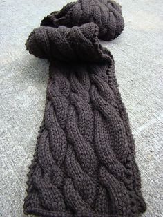 This is just fun and so easy. Great for a beginner cable project!!!