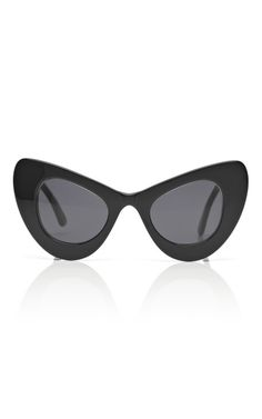 525e09feee Shop Black Cat Eye Sunglasses by Illesteva for Preorder on Moda Operandi  Sunglasses Outlet