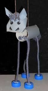 Resultado de imagen para como hacer una marioneta con botellas de plastico