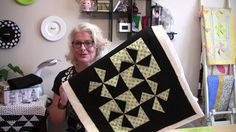"SCROLL DOWN TO WATCH THE VIDEO ""A two hour quick and easy dimensional pinwheel table top quilt"" This is Very Simple and Quick to Make. You can use any colors you like to make this table topper. Arrange the blocks into one long row and make it a table runner. The Pinwheels are made from folded …"