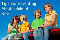 Tips for Parenting Middle-Aged School Kids