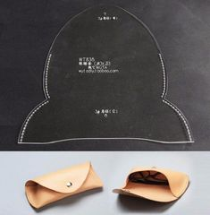 Eyeglasses Case Template Acrylic Leather Pattern DIY Leathercraft S2 | Crafts, Leathercrafts, Leathercraft Tools | eBay!