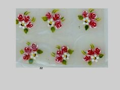 adesivo 3d Nail Art, 3d Nails, Nail Arts, Little Flowers, Beauty Nails, Nail Art Designs, Stickers, How To Make, Pedicures