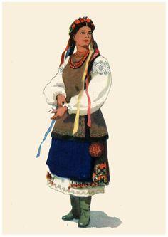 Украинский народный костюм. Открытки 1959 года.. Обсуждение на LiveInternet  - Российский Сервис Онлайн 929bb72e847cc
