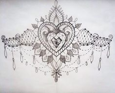 sternum tattoo - Google Search
