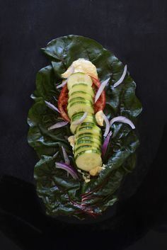 Wrap it up the right way! Make these Rainbow Chard Wraps with Hummus from Minimalist Baker.