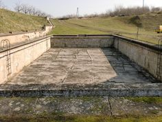 a pool made by the prissoners during the war, all for the commander and hos family