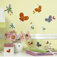 Wall stickers med sommerfugle