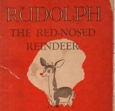 Rudolph the Red-Nosed Reindeer turns 75 Reindeer Names, Rudolph Red Nosed Reindeer, Rudolph The Red, It's December, Save The Day, Winter Collection, Christmas Ideas, Public, Bright
