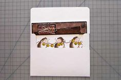 How to make any size envelope -- video tutorial and pictorial -- by Nancy Stislow on Splitcoaststampers