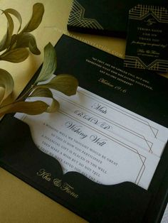 vinas invitation suede hardcover invitation silver foil suede