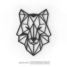 Victorious Wolf - The Best Geometric Space Tattoos - Planet Tattos Ideas Geometric Tattoo Forearm, Geometric Tattoo Nature, Geometric Tattoo Meaning, Geometric Tattoo Pattern, Geometric Tattoos Men, Geometric Drawing, Geometric Art, Geometric Tattoo Animal, Geometric Flower