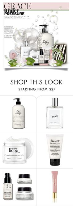 """Grace"" by rockreborn ❤ liked on Polyvore featuring beauty, philosophy, Ultimate, Bobbi Brown Cosmetics, AERIN, polyvorecommunity, polyvoreeditorial and beautyset"