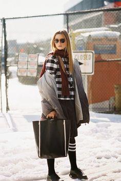 New York Fashion Week AW 2013....Maria