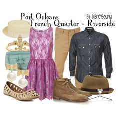 Port Orleans, created by lalakay on Polyvore
