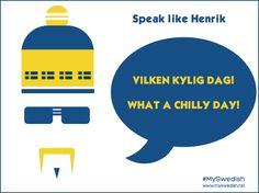 Chilly day - English/Swedish translation