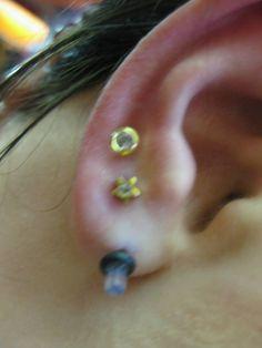 Lobe Piercings  #lobe #piercing #ear