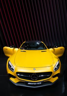 "drivingbenzes: ""Mercedes-Benz AMG GT "" If you like it, share it. Maserati, Lamborghini, Ferrari Laferrari, Mercedes Benz Amg, Benz Car, Porsche, Audi, Sexy Cars, Hot Cars"