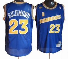 Golden State Warriors 23# Mitch Richmond blue throwback jersey $24.5