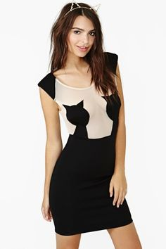 cat dress, need i say more