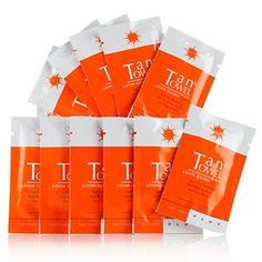TanTowel® Half Body PLUS Towelettes - 12-pack at HSN.com.