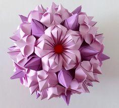 5 petals origami flower #1