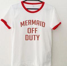 7aaea6ece Mermaid off duty tshirt • Sweatshirt • Clothes Casual Outift for • teens •  movies •